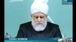 Проповедь Хазрата Мирзы Масрура Ахмада (12-11-10) часть 1