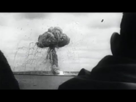 Huge Explosions Destroy 10 Acre Ammunition Dump at Cherbourg Aug 17 1944