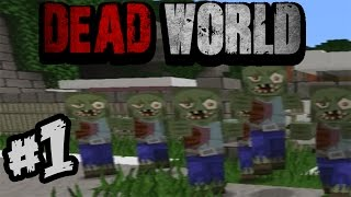 """O NE VIKTOREEEEE!!!!!""-DEAD WORLD- part 1. -minecraft mapa"