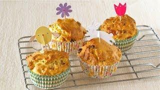 How To Make Fruit Granola Yogurt Muffins (healthy Easter Recipe) 簡単!フルグラマフィン (ヘルシー イースター レシピ)