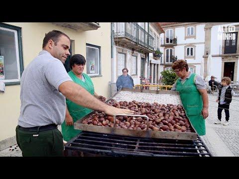 Castanhas, concertinas e folclore animam magusto em Vila Nova de Cerveira | Altominho TV