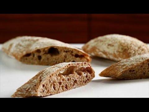 Итальянский хлеб чиабатта со свежим розмарином - рецепт Уриэля Штерна