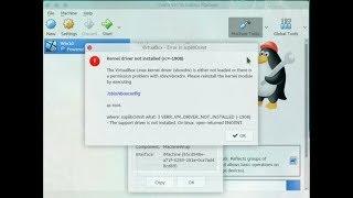 [SOLVED] Virtual Box Setup | Kernel Driver Not Installed(rc ...