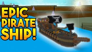 INSANE PIRATE SHIP! | Build A Boat For Treasure ROBLOX