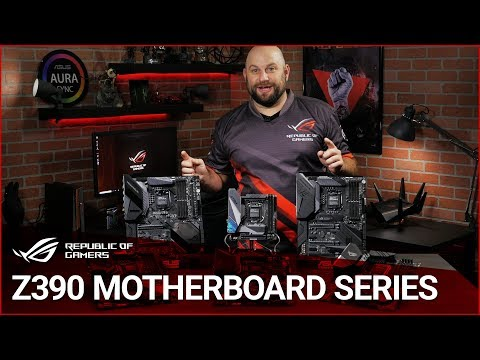 ASUS ROG Z390 Motherboard Series Overview