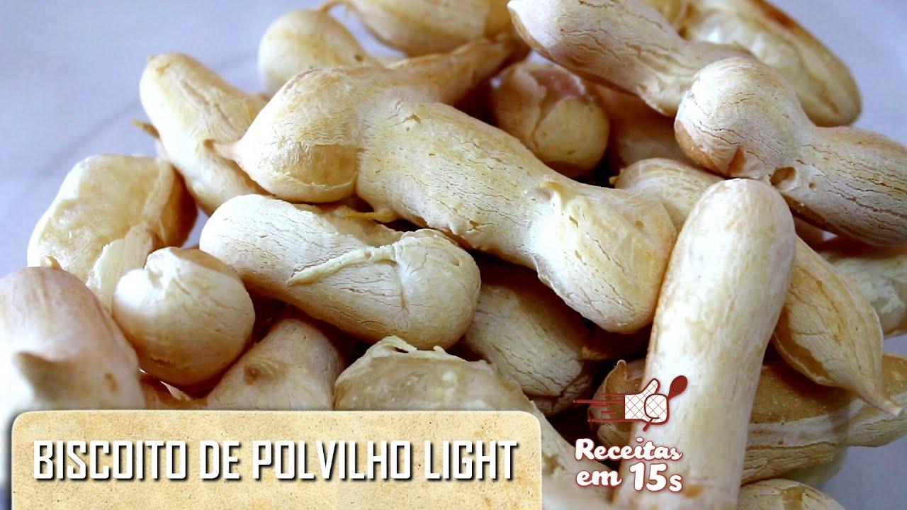 Populares Biscoito de Polvilho Light (Peta) em 15 segundos - YouTube GP53