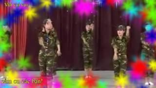 Mười Chú Lính Chì | Xuân Mai | Official MV - múa đẹp