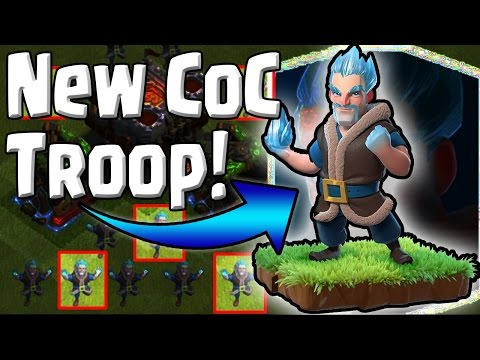 NEW CoC - ICE WIZARD TROOP!! Coming To Clash Of Clans - Xmas Update Breakdown