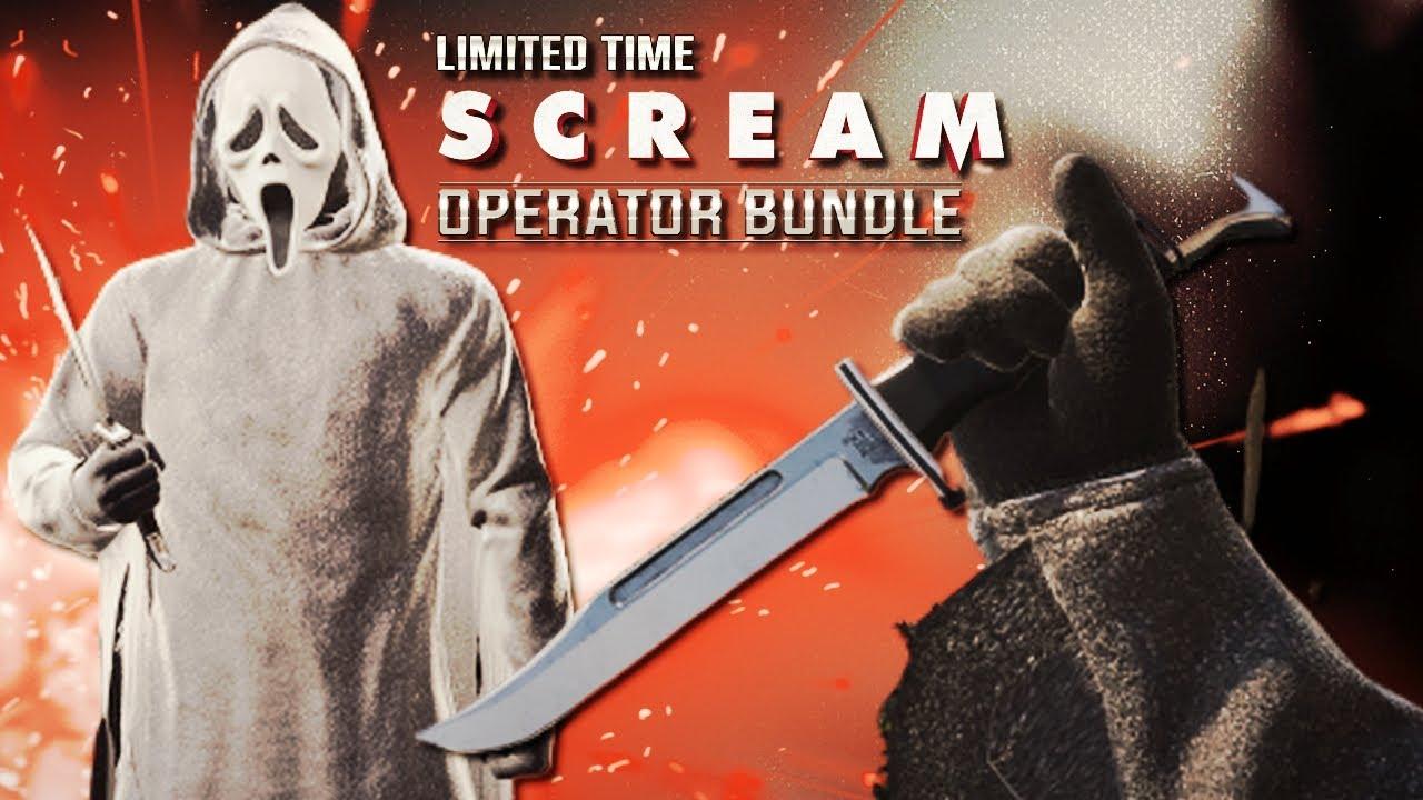 Massacre in Verdansk! Ghost Face Tracer Pack: Scream Operator Bundle Showcase Call Of Duty Cold War!