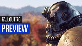 Fallout 76 PREVIEW / VORSCHAU - Multiplayer & Mutierte Faultiere
