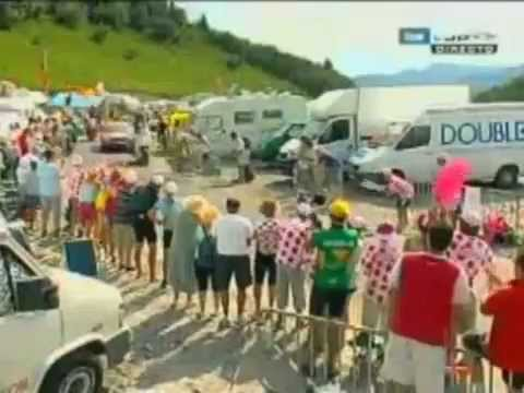Tour de France 2006 17 Saint Jean de Maurienne - Morzine EuroLandis Travel Video