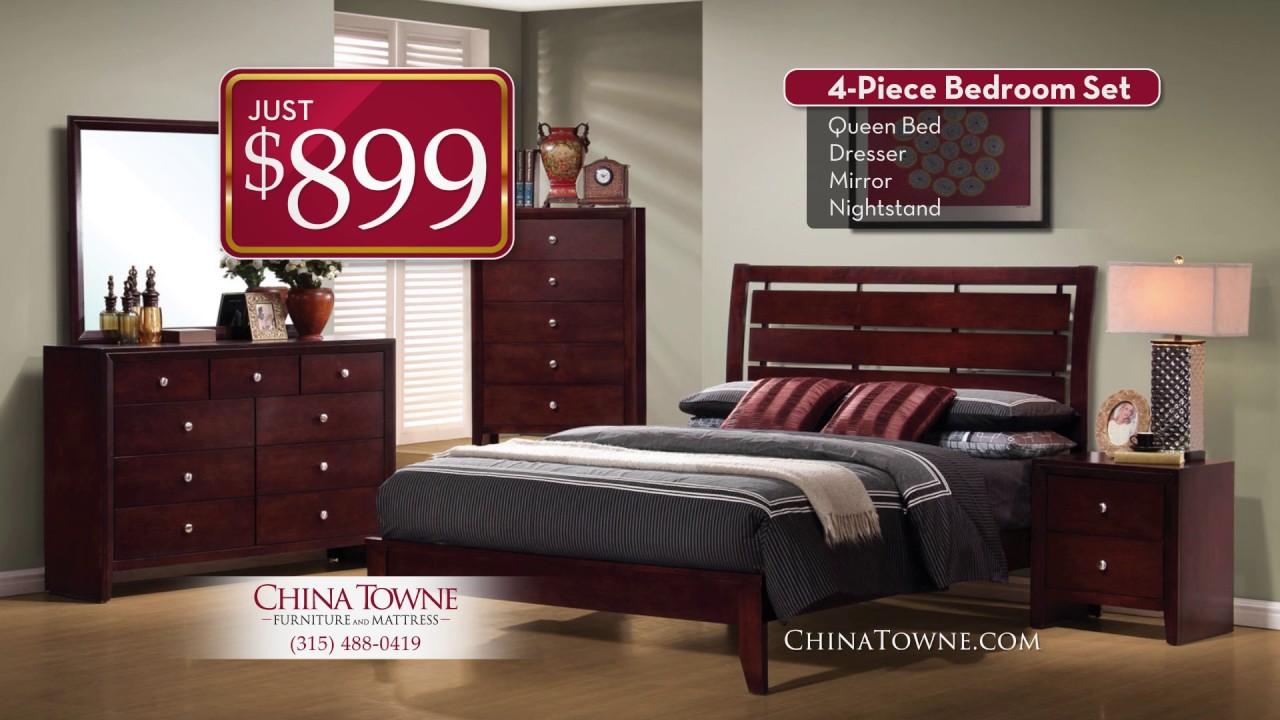 China Towne Furniture U0026 Mattress Bedrooms!