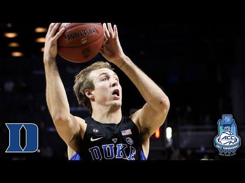 Duke's Luke Kennard: 2017 ACC Tournament MVP