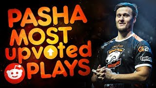 CS:GO - PASHABICEPS MOST UPVOTED REDDIT PLAYS EVER! (CRAZY CLUTCHES & FUNNY MOMENTS)