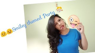 Smiley themed Birthday Party/ Creative Apurva Jain/ Kids Birthday Party Games/ Hosting / Anchor