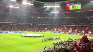 Bayern Munich - Paris SG / UEFA Champions League Hymne / LIVE / Allianz Arena / Stadium Atmosphere