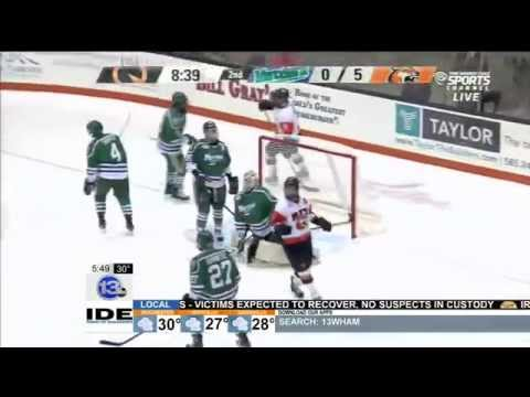 RIT on TV: RIT Tiger signs with the Rochester Amerks!