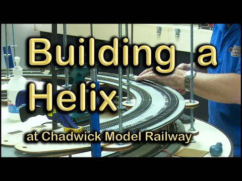Building a Helix at Chadwick Model Railway | 114.