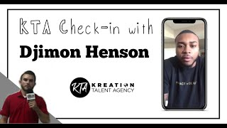 Djimon Henson Interview