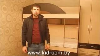 Набор детской мебели. Двухъярусная кровать под заказ Минск.(, 2016-08-12T08:13:04.000Z)