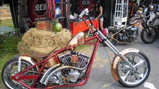 crazy harley show custom bikes chopper motorcycles chrome muscle bike pictures