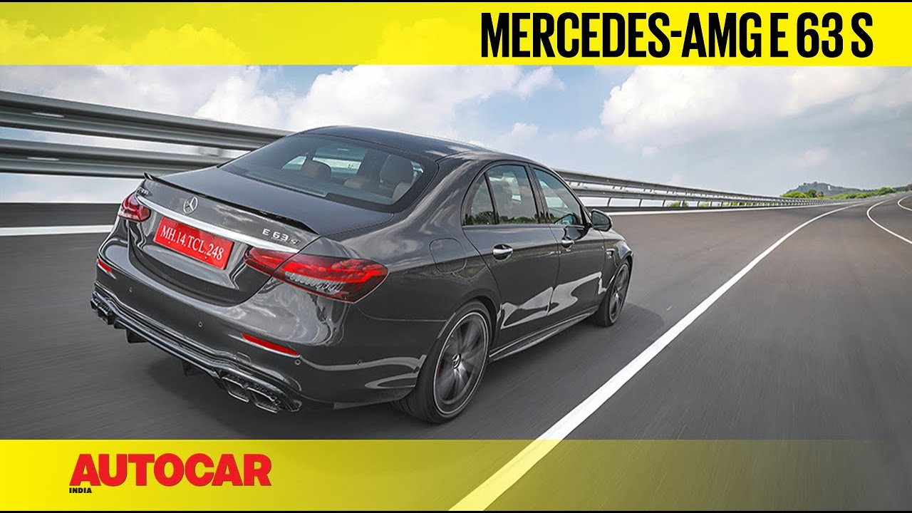2021 Mercedes-AMG E 63 S review - Driven to 300kph! | First Drive | Autocar India