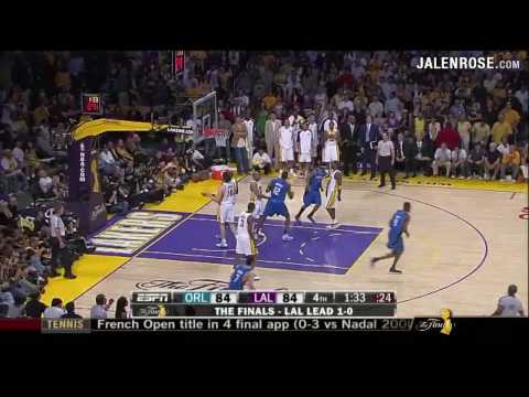 Lakers vs Magic Game 2 Highlights - 2009 NBA Finals - Lakers win in OT 101-96