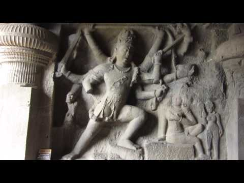 INDIA UNESCO World Heritage Ellora Buddhist Caves :  Alien Influenced Rock-cut Architecture :