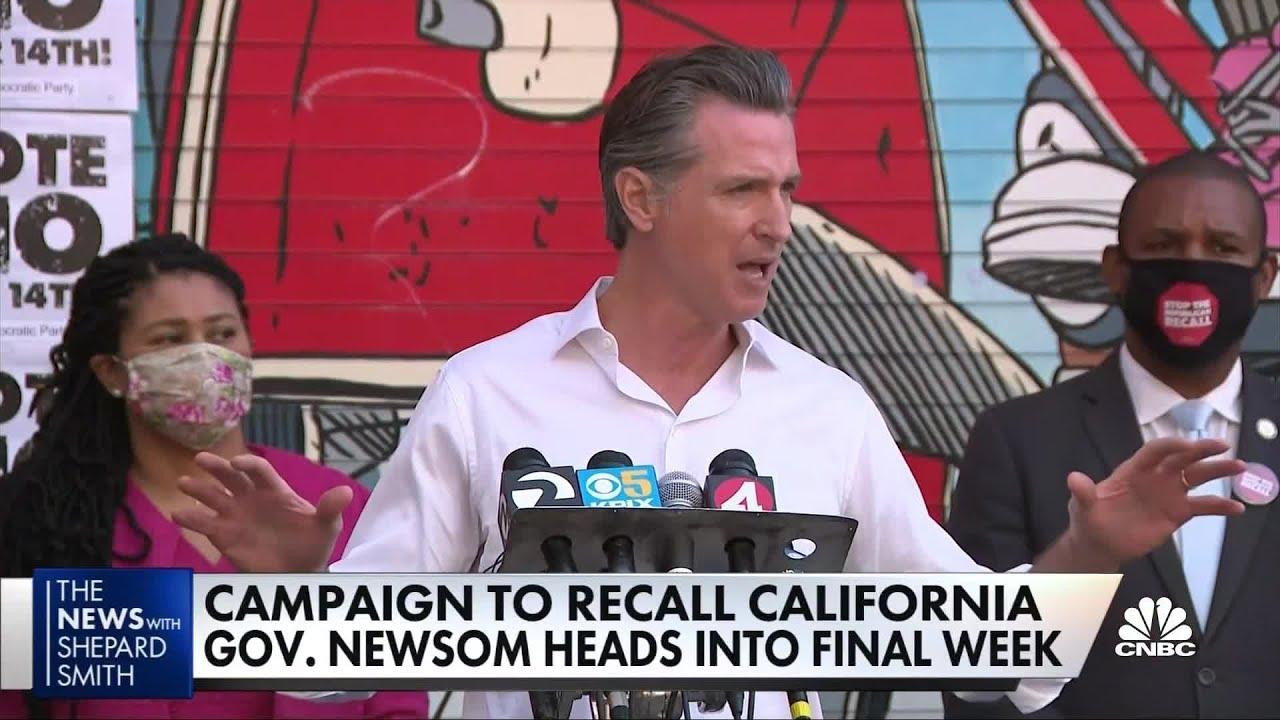 California Recall Live Updates: The Latest News