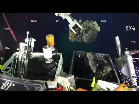 ROV SuBastian Dive 098- South Tafu Eruption - Underwater Fire