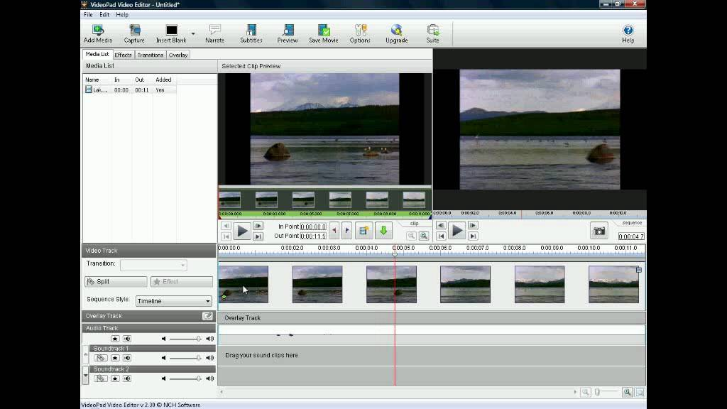 Tutorial - Using Chroma Key in VideoPad - YouTube
