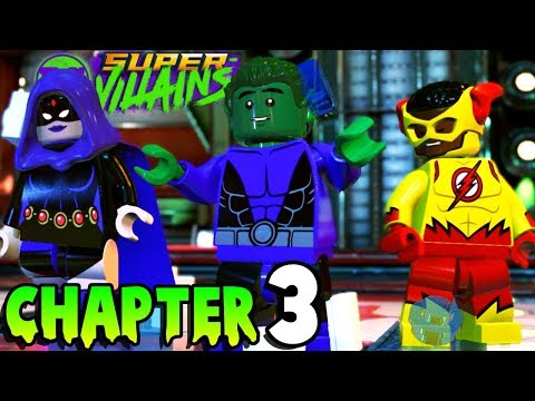 LEGO TEEN TITANS BATTLE! (Chapter 3) Lego DC Super-Villains Gameplay Walkthrough