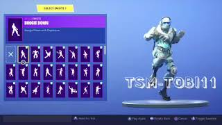 *NEW SKIN* CONGELATED Dancing all Fortnite Dances Which One Fits Best?