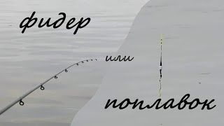поплавок и фидер рыбалка летом на Десногорском водохранилище