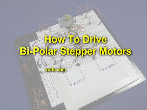 How To Drive Bi-Polar Stepper Motors