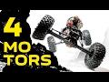 making 4 MOTOR mount for RC crawler