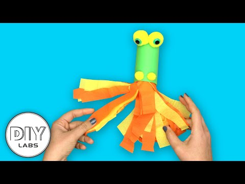 How to make a DRAGON using Paper Roll | Fast-n-Easy | DIY Arts & Crafts for Kids