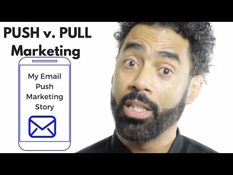 Marketing 311- Week 4's Discussion Push and Pull Mobile Marketing