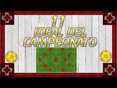 11 ideal del Campeonato - Fútbol Ecuatoriano - 동영상