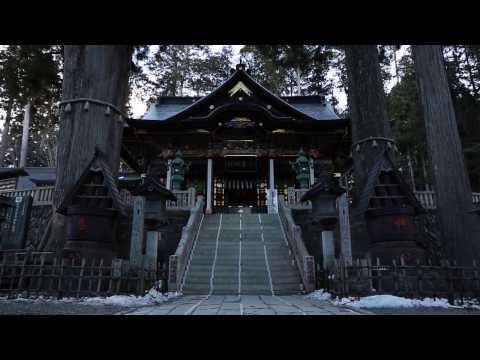 Mitsumine shrine at first light