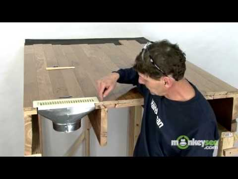 fixing squeaks under hardwood floors - youtube