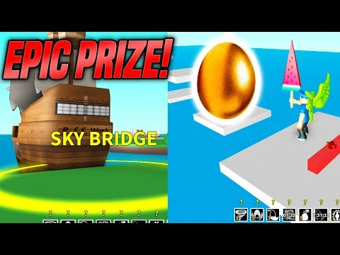 EPIC SKY BRIDGE OBBY IN EGG FARM SIMULATOR! *HARD* (Roblox)