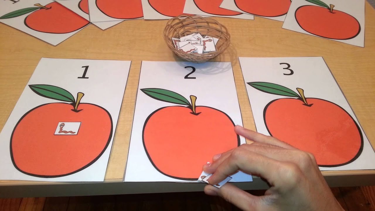 Math Number Quantity Activity- Toddlers, Preschool, Kindergarten ...