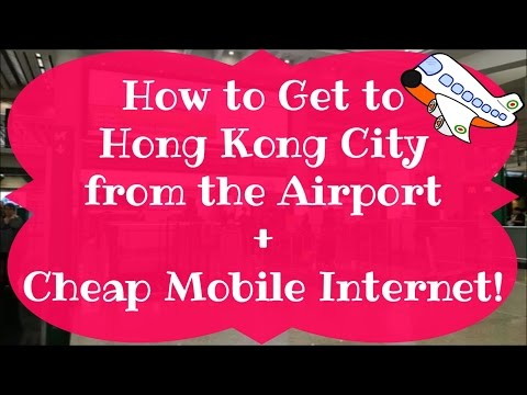 How to Get to Hong Kong City From the Airport