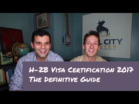 A Definitive Guide to H-2B Visa Certification in 2017