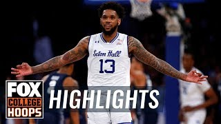 Myles Powell drops 29 points in first half, sets tournament record | FOX COLLEGE HOOPS HIGHLIGHTS