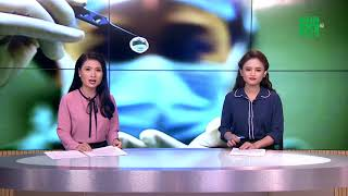 VTC14 | Hôm may, giác mạc của bé gái 7 tuổi được ghép cho 2 bệnh nhân