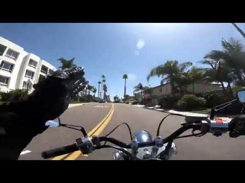 Honda's last ride to Oceanside California