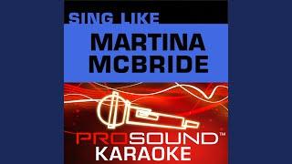 Valentine (Karaoke Instrumental Track) (In the Style of Martina McBride with Jim Brickman)