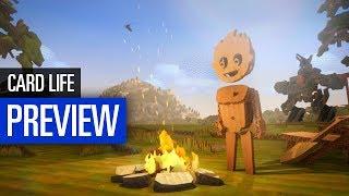Card Life PREVIEW | Survivalspiel im Pappkarton-Design